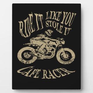 Ride It Plaque