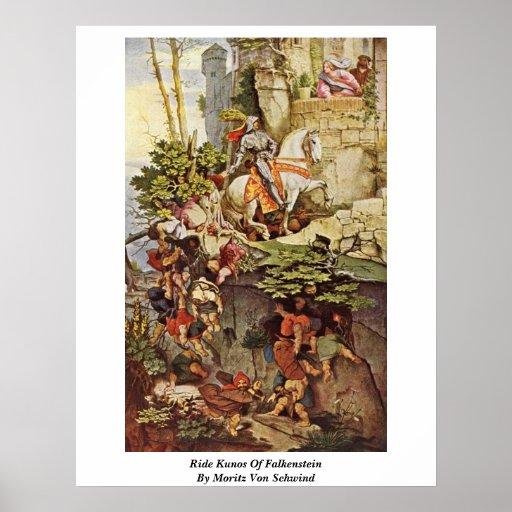 Ride Kunos Of Falkenstein By Moritz Von Schwind Poster