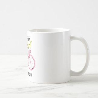 Ride Like a Girl Basic White Mug
