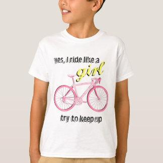 Ride Like a Girl Shirt