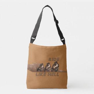 Ride Like Hell Crossbody Bag