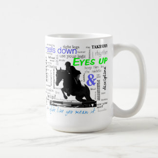 Ride Like You Mean It instructions jumping mug