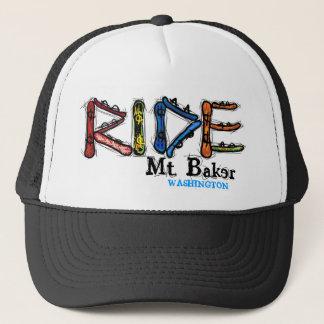 Ride Mt. Baker Washington snowboard hat