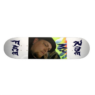 Ride My Face Skate Deck
