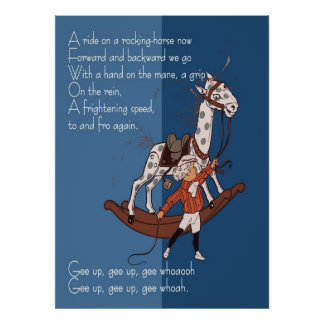 Ride on a Rocking Horse Poster