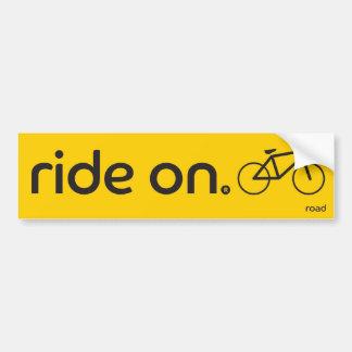Ride On™ Road Bumper Sticker