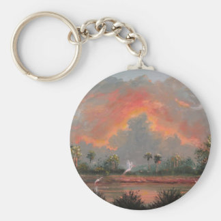 Ride on to the Sunset - Tribute to Todd Price Basic Round Button Key Ring