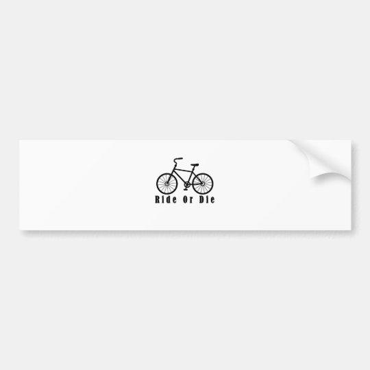 ride or die gy.png bumper sticker