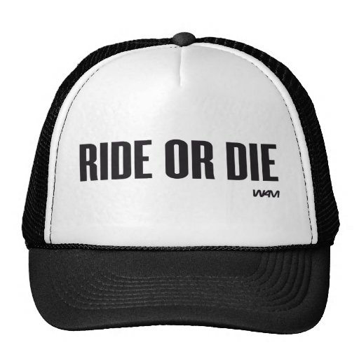 RIDE OR DIE MESH HATS