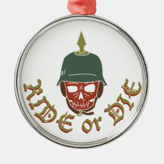 Ride Or Die Pickelhaube Christmas Ornament