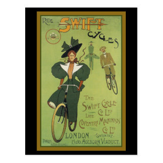 Ride Swift Cycles Post Cards