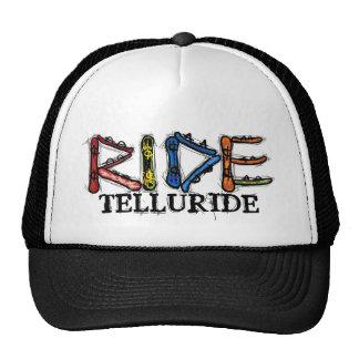 Ride Telluride Colorado snowboard hat