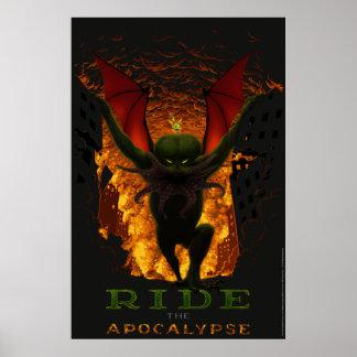 Ride the Apocalypse Poster