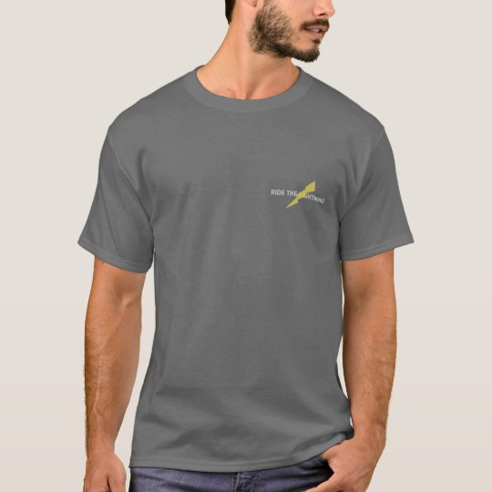 Ride the Lightning tactical taser T-Shirt