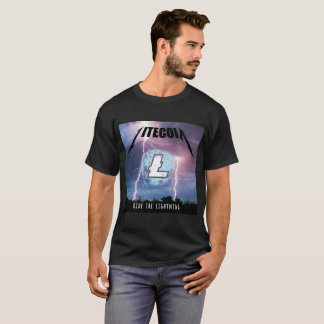 Ride the Lightning with Litecoin T-Shirt