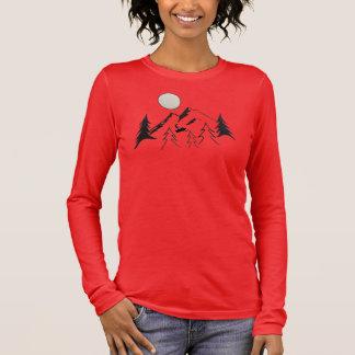 Ride The Ridge Line Long Sleeve T-Shirt