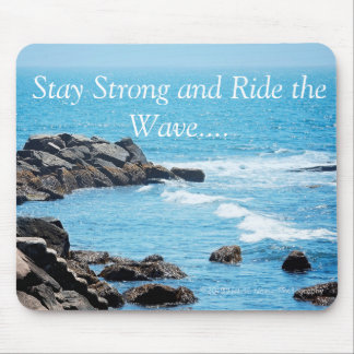 Ride the Wave mouse pad