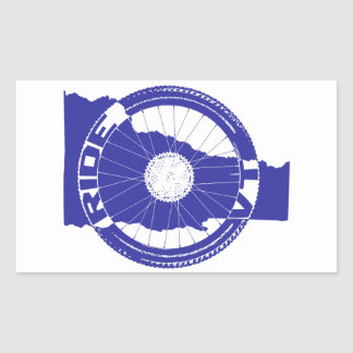 Ride Vermont Rectangular Sticker