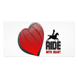 RIDE WITH HEART PRODUCTS PICTURE CARD