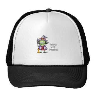 RIDE WITH PRIDE TRUCKER HAT