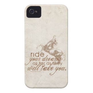 Ride Your Dreams iPhone 4 Case-Mate Cases