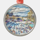Rideau Canal Ottawa Canada Christmas Ornament