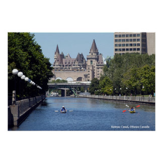 Rideau Canal  Poster