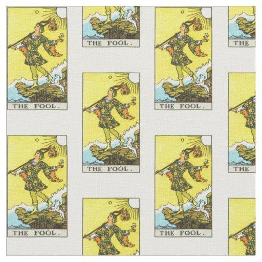 Rider-Waite Tarot Fool Card Fabric