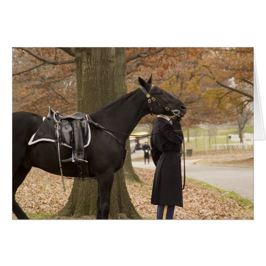 Riderless Horse Escort Card