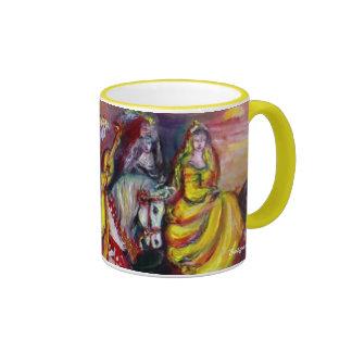 Riders in the Night - Customized Ringer Mug