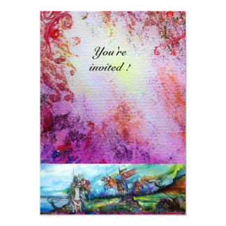 RIDERS IN THE STORM 1 13 CM X 18 CM INVITATION CARD