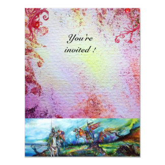 """RIDERS IN THE STORM 1 4.25"""" X 5.5"""" INVITATION CARD"""