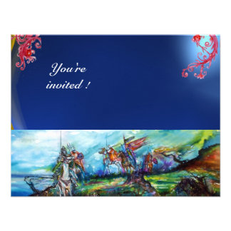 RIDERS IN THE STORM gem blue Custom Invite