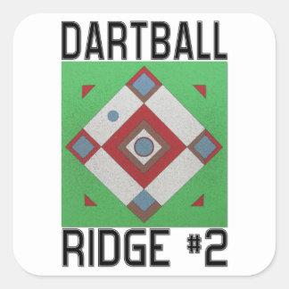 Ridge #2 Dartball Stickers