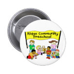 Ridge Community Preschool Pinback Buttons