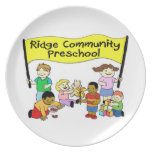 Ridge Community Preschool Plate