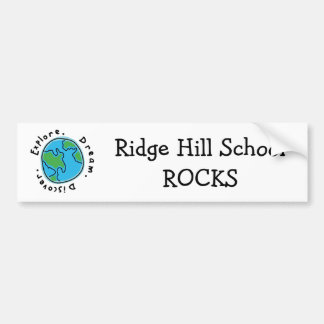 Ridge Hill School ROCKS Bumper Sticker