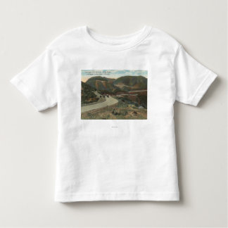 Ridge Route to Swede's Cut & Bakersfield Toddler T-Shirt