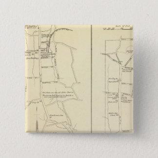 Ridgefield, Newton, Darien 15 Cm Square Badge
