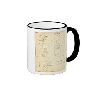 Ridgefield, Newton, Darien Ringer Coffee Mug