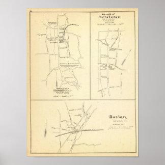 Ridgefield, Newton, Darien Posters