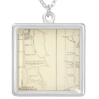 Ridgefield, Newton, Darien Silver Plated Necklace