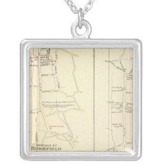 Ridgefield, Newton, Darien Square Pendant Necklace