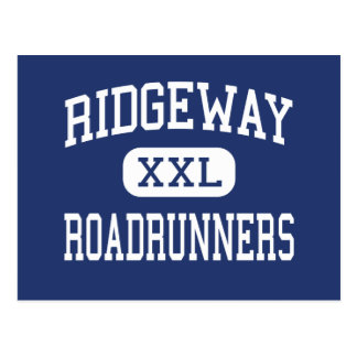 Ridgeway Roadrunners Middle Memphis Postcard