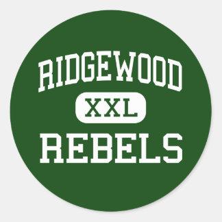 Ridgewood - Rebels - Community - Norridge Illinois Round Sticker
