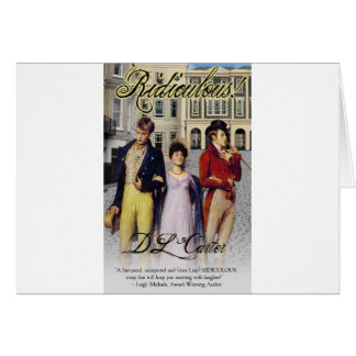 ridiculous cover.jpg greeting card