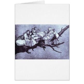 Ridiculous dream by Francisco Goya Greeting Card