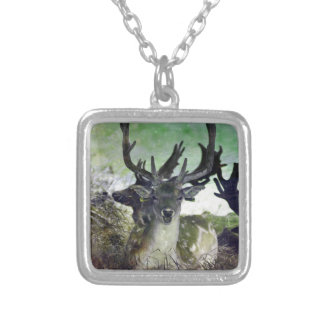 Ridiculously Photogenic Deer Silver Plated Necklace