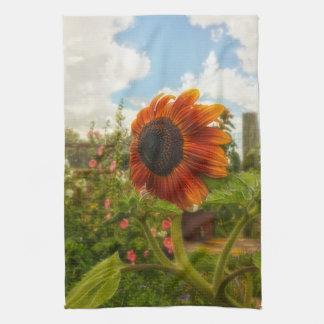 Ridin' that Wyoming Wind Sunflower Kitchen Towel