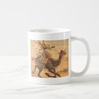 Riding a dromedary coffee mugs